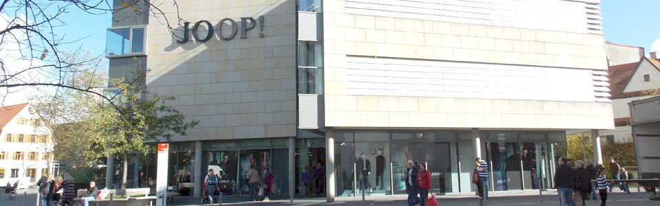 joop outlet fabrikverkauf in metzingen. Black Bedroom Furniture Sets. Home Design Ideas